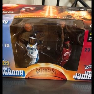 Unopened. LeBron and Melo Combo Pack